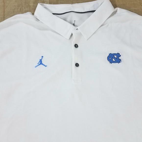 7da423384446 Nike Air Jordan UNC Tar Heels Polo Shirt 3XL. NWT